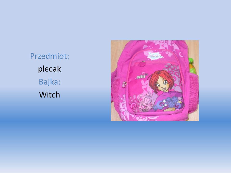 Przedmiot: plecak Bajka: Witch