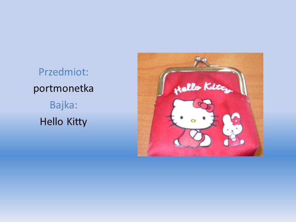 Przedmiot: portmonetka Bajka: Hello Kitty