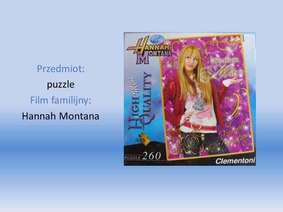 Przedmiot: puzzle Film familijny: Hannah Montana