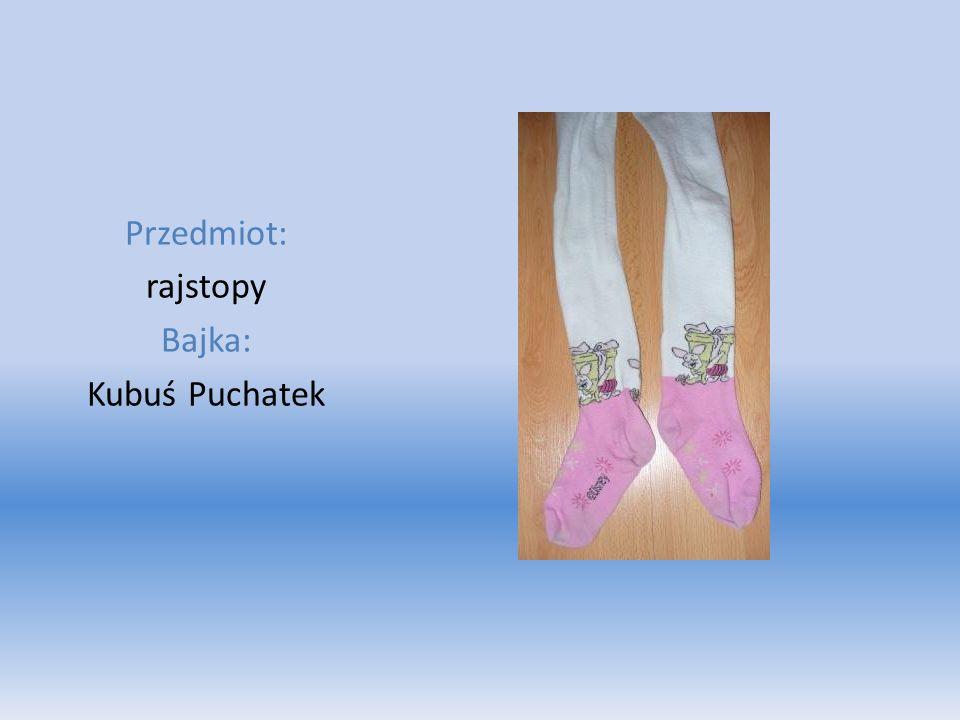Przedmiot: rajstopy Bajka: Kubuś Puchatek
