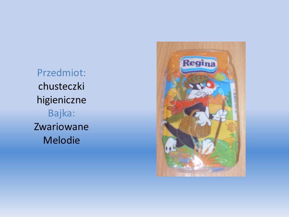 Przedmiot: chusteczki higieniczne Bajka: Zwariowane Melodie