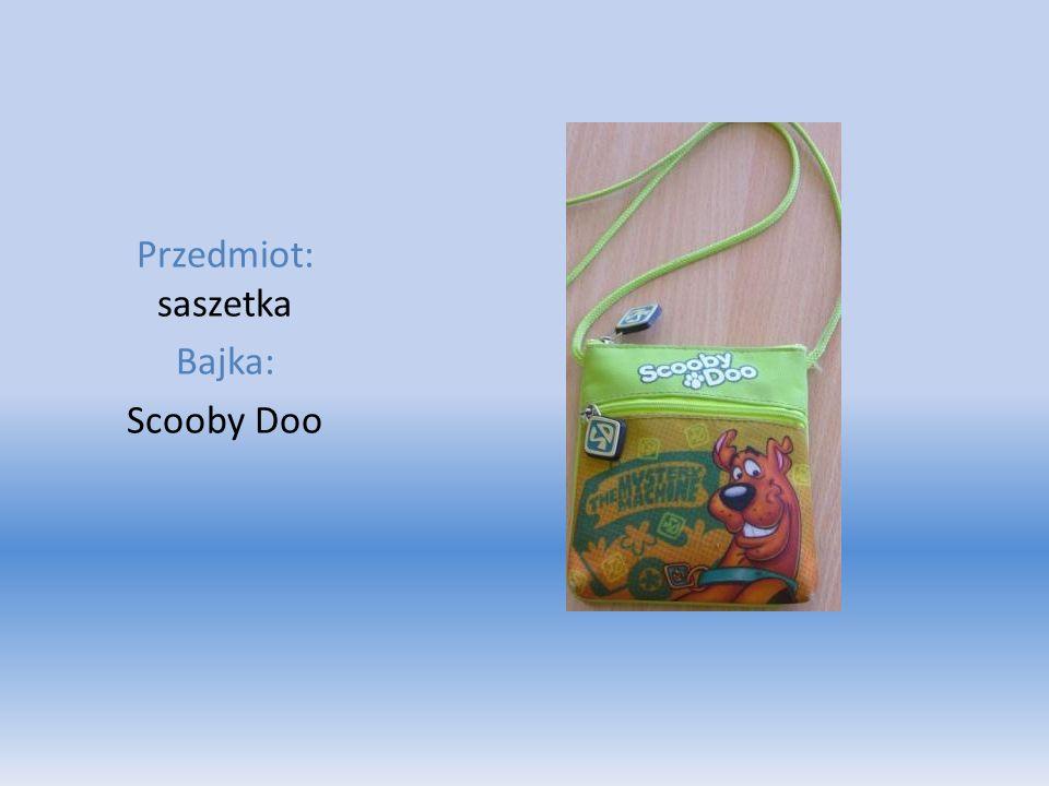 Przedmiot: saszetka Bajka: Scooby Doo