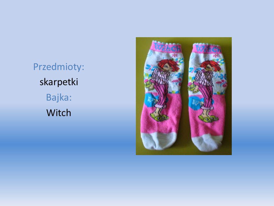 Przedmioty: skarpetki Bajka: Witch