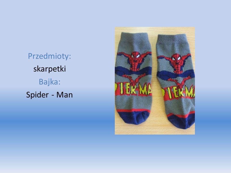 Przedmioty: skarpetki Bajka: Spider - Man