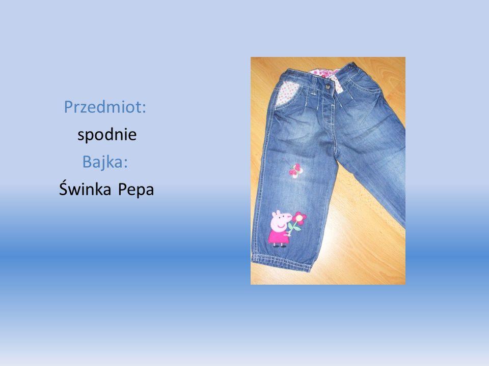 Przedmiot: spodnie Bajka: Świnka Pepa