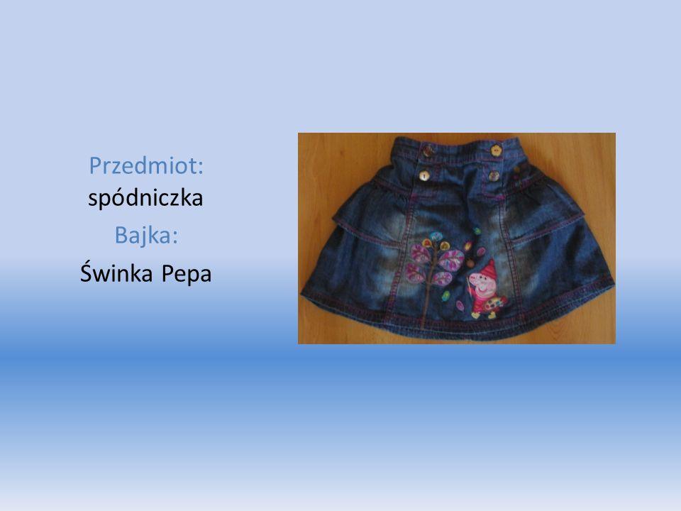 Przedmiot: spódniczka Bajka: Świnka Pepa