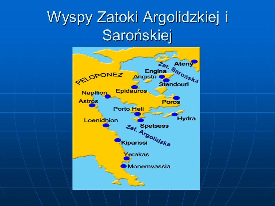 Wyspy Zatoki Argolidzkiej i Sarońskiej