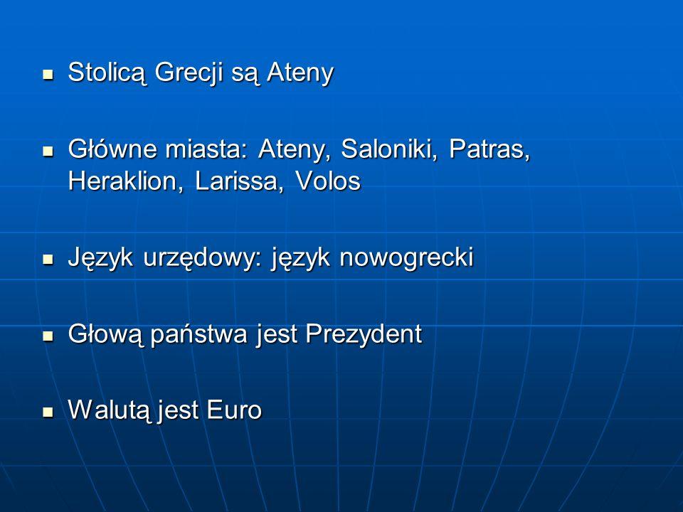ŻEGLARSTWO: ŻEGLARSTWO: - Grecja dysponuje licznymi, dobrze wyposażonymi marinami - najwyższej klasy mariny znajdują się m.in.