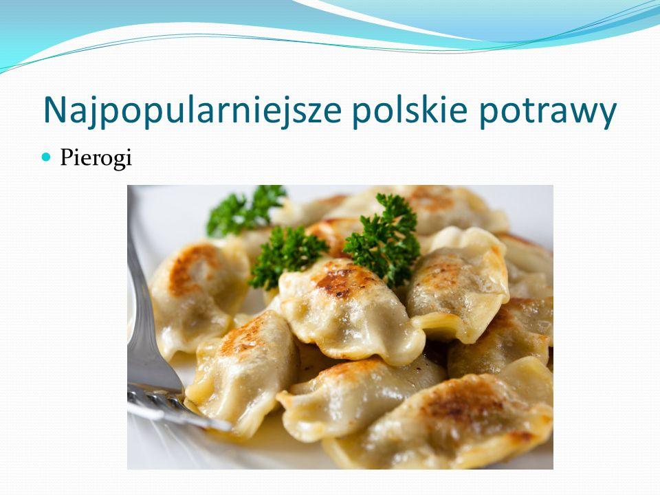 Najpopularniejsze polskie potrawy Pierogi