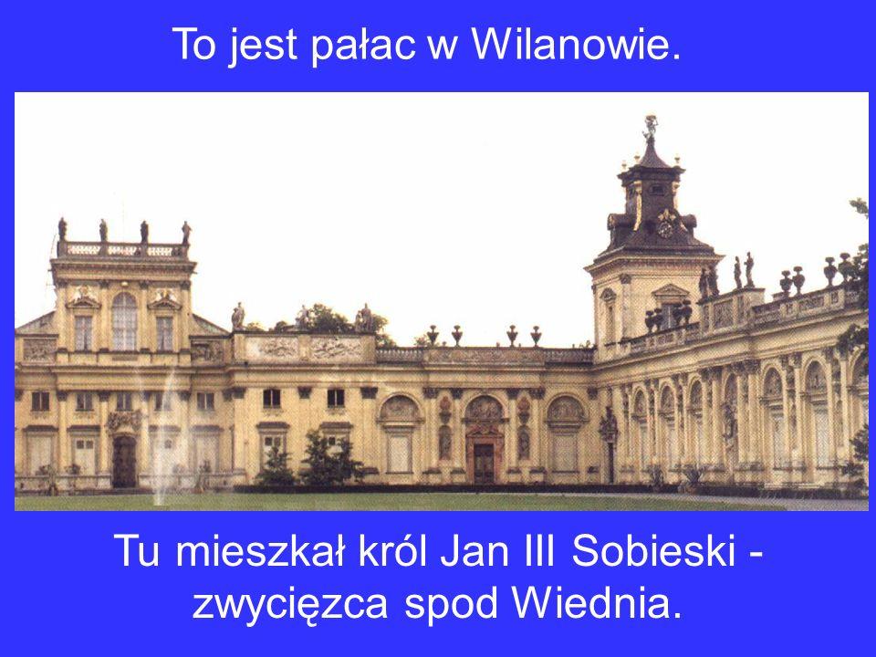 Warszawa ma też inne piękne zabytki: To jest Stare Miasto.