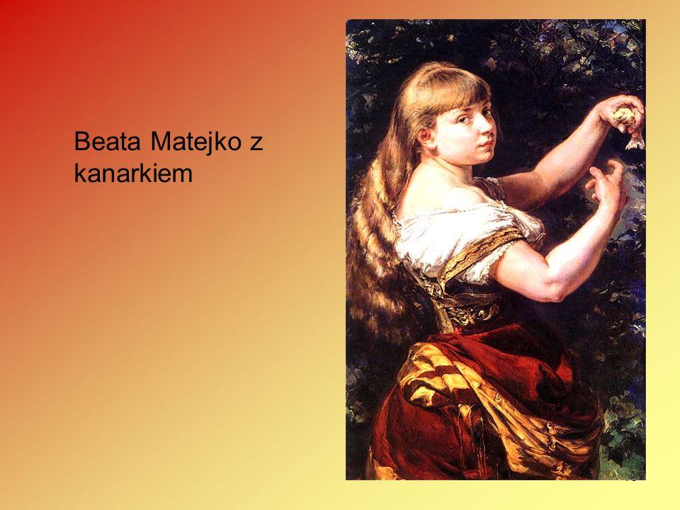 15 Beata Matejko z kanarkiem