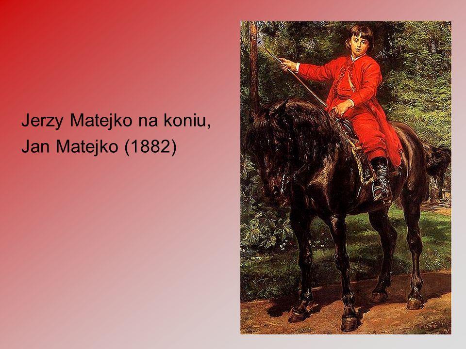 16 Jerzy Matejko na koniu, Jan Matejko (1882)