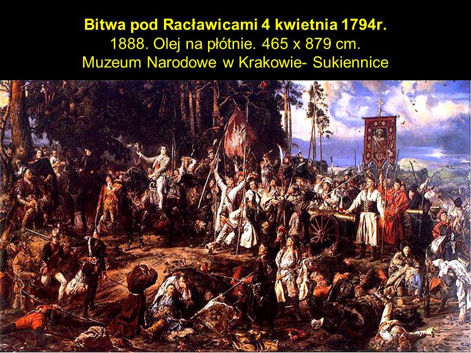 23 Bitwa pod Racławicami 4 kwietnia 1794r. 1888. Olej na płótnie.