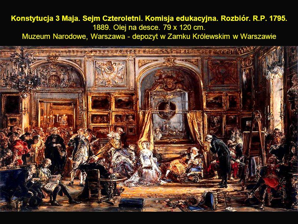 26 Konstytucja 3 Maja. Sejm Czteroletni. Komisja edukacyjna.