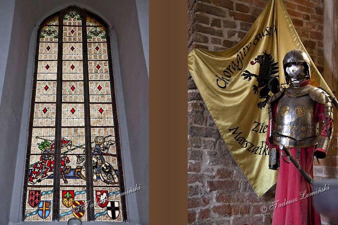 Dziedziniec zamkowy Studnia zamkowa Kaplica zamkowa