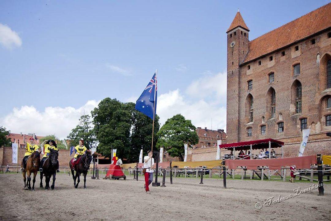 Pałac Marysieńki, aktualnie hotel Arena turniejów rycerskich