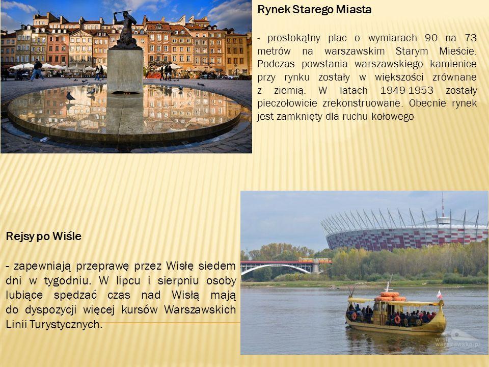 Rynek Starego Miasta - prostokątny plac o wymiarach 90 na 73 metrów na warszawskim Starym Mieście.