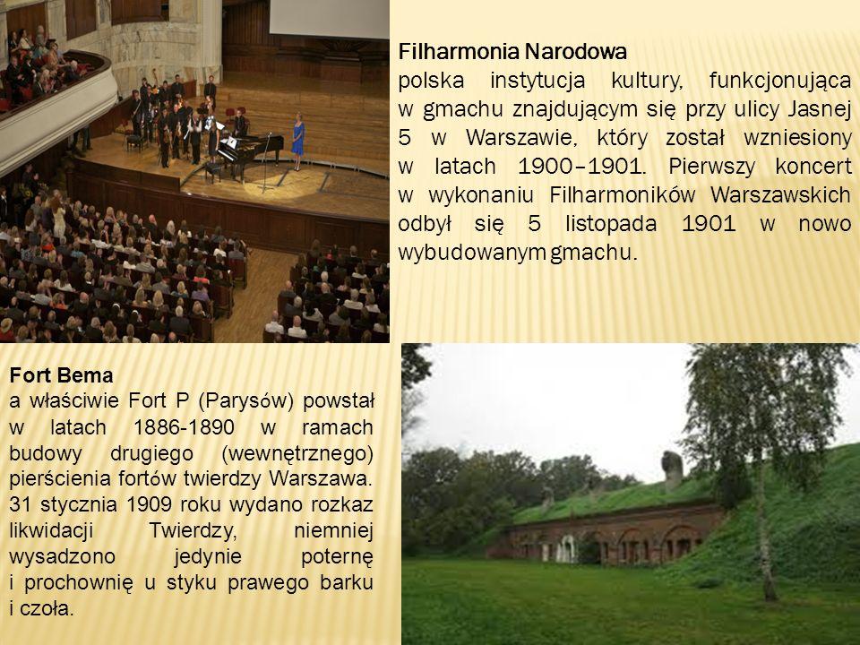 Fort Bema a właściwie Fort P (Parys ó w) powstał w latach 1886-1890 w ramach budowy drugiego (wewnętrznego) pierścienia fort ó w twierdzy Warszawa.