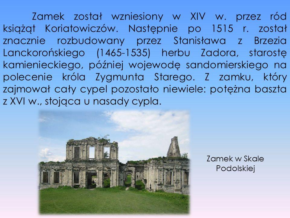 Zamek został wzniesiony w XIV w. przez ród książąt Koriatowiczów. Następnie po 1515 r. został znacznie rozbudowany przez Stanisława z Brzezia Lanckoro