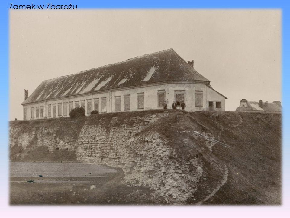 Zamek w Zbarażu
