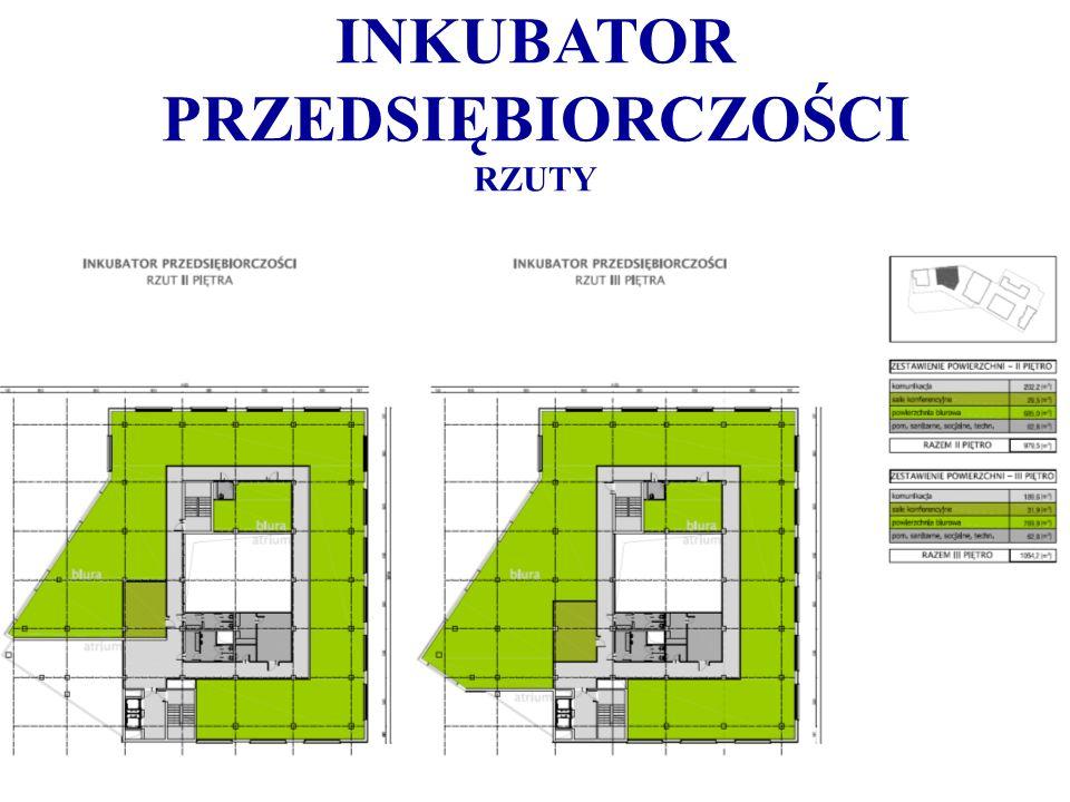 INKUBATOR PRZEDSIĘBIORCZOŚCI RZUTY