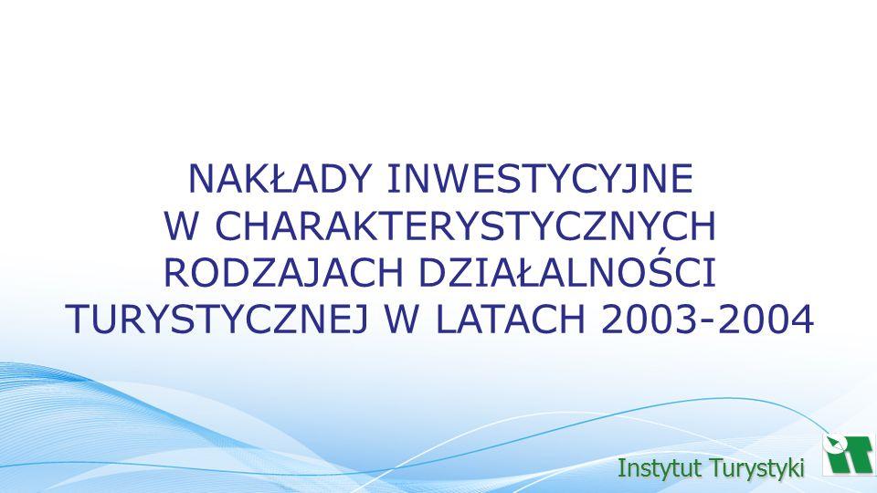 W 2003 roku nakłady inwestycyjne na budynki i budowle, środki transportu oraz pozostałe środki trwałe, łącznie z nakładami na ulepszenia gruntu w CRDT, wyniosły 4,0 mld PLN - 3,6% nakładów inwestycyjnych ogółem.
