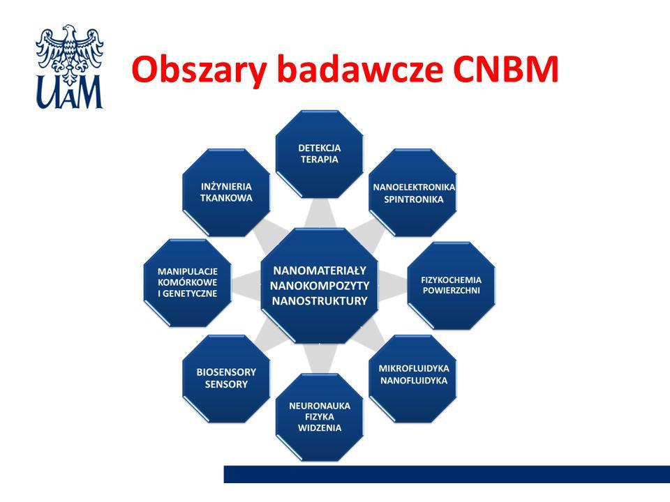 Obszary badawcze CNBM