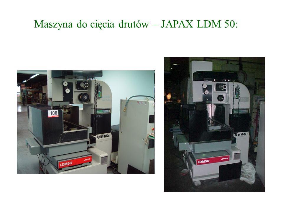 Maszyna do cięcia drutów – JAPAX LDM 50: