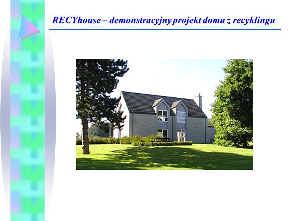 RECYhouse – demonstracyjny projekt domu z recyklingu