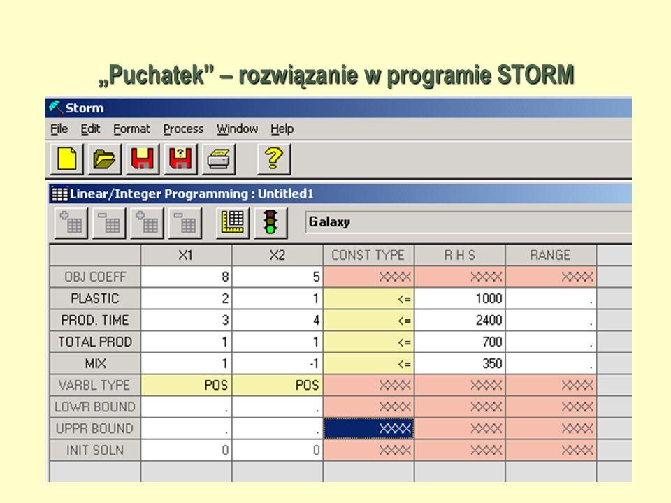 """43 """"Puchatek – rozwiązanie w programie STORM"""