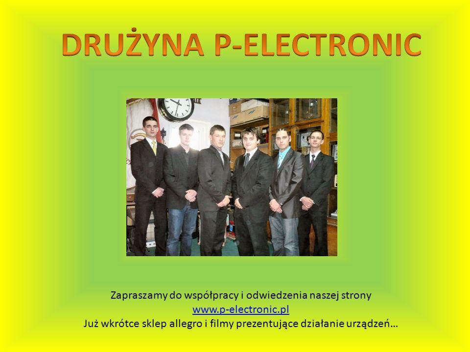 Zapraszamy do współpracy i odwiedzenia naszej strony www.p-electronic.pl Już wkrótce sklep allegro i filmy prezentujące działanie urządzeń…