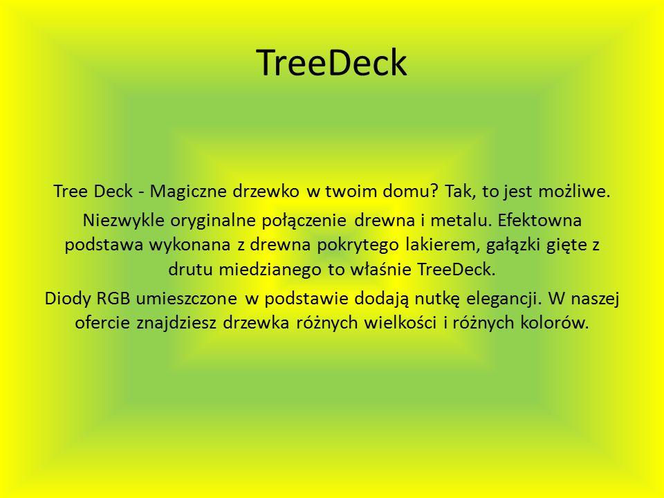 TreeDeck Tree Deck - Magiczne drzewko w twoim domu.