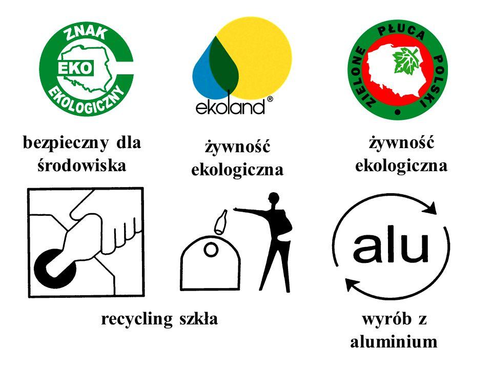 recycling szkławyrób z aluminium bezpieczny dla środowiska żywność ekologiczna