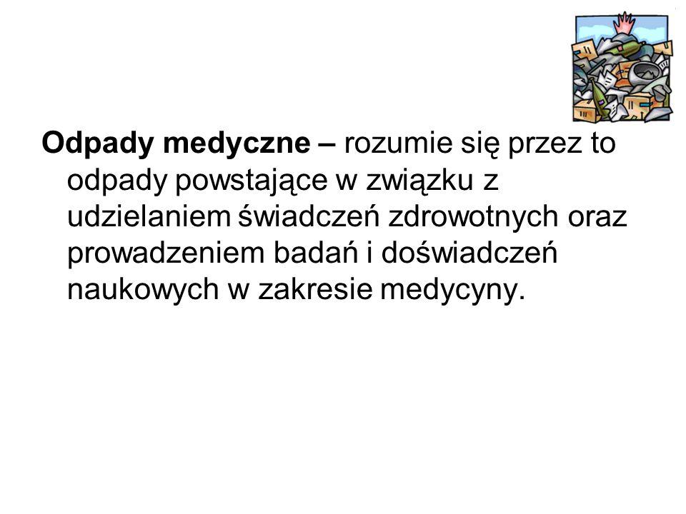 Ilość odpadów w Polsce Największe ilości odpadów wytworzono w rejonie Polski południowej, w województwach: –śląskim (41,9% całego strumienia), –dolnośląskim (26,9%) –małopolskim (7,3%).