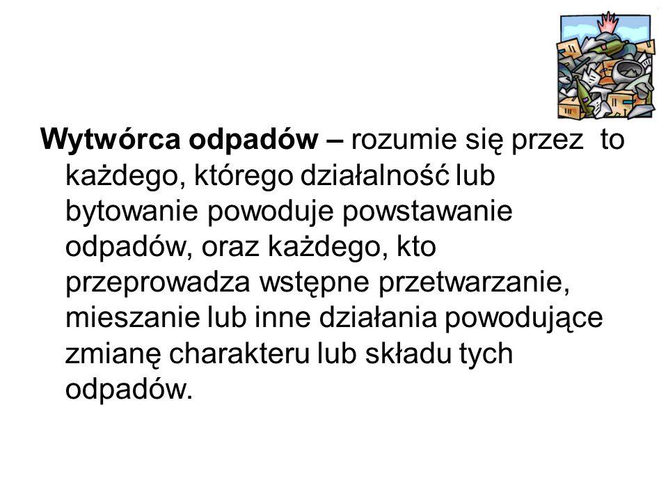 Przydatne informacje można znaleźć: www.lop.gda.pl www.recykling.pl - odpadowe ABC www.ekoedukacja.pl - baza materiałów do edukacji ekologicznej: materiały edukacyjne, konspekty, wzory, scenariusze www.odpad.pl - portal tematyczny zawierający aktualne przepisy prawne w gospodarce odpadami, wykaz organizacji odzysku oraz firm zagospodarowujących odpady www.mos.gov.pl/odpady - Ministerstwo Środowiska - Plany Gospodarki Odpadami www.tnz.most.org.pl - gospodarowanie odpadami w prawodawstwie Unii Europejskiej