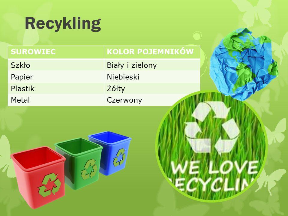 Recykling W Polsce produkujemy 12mln ton odpadów komunalnych rocznie. Ponad 90% z nich ląduje na wysypiskach śmieci. Jeden Polak produkuje mniej więce