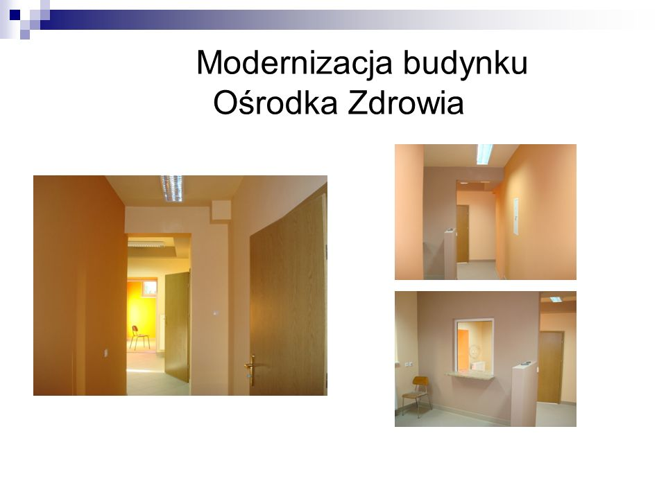 Modernizacja budynku Ośrodka Zdrowia