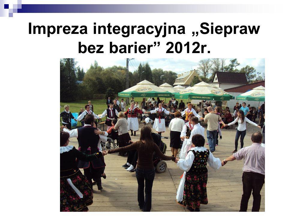 """Impreza integracyjna """"Siepraw bez barier 2012r."""