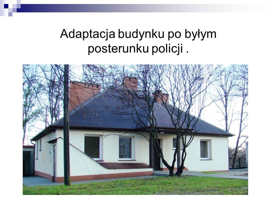 Adaptacja budynku po byłym posterunku policji.