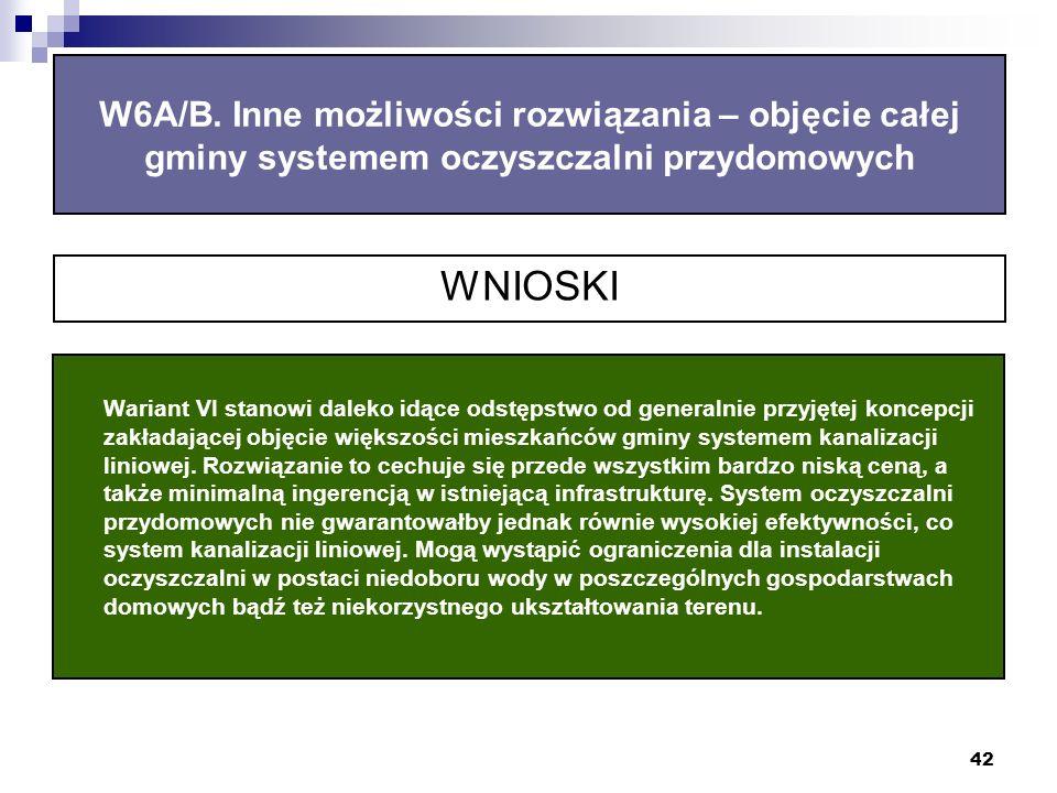 42 W6A/B.