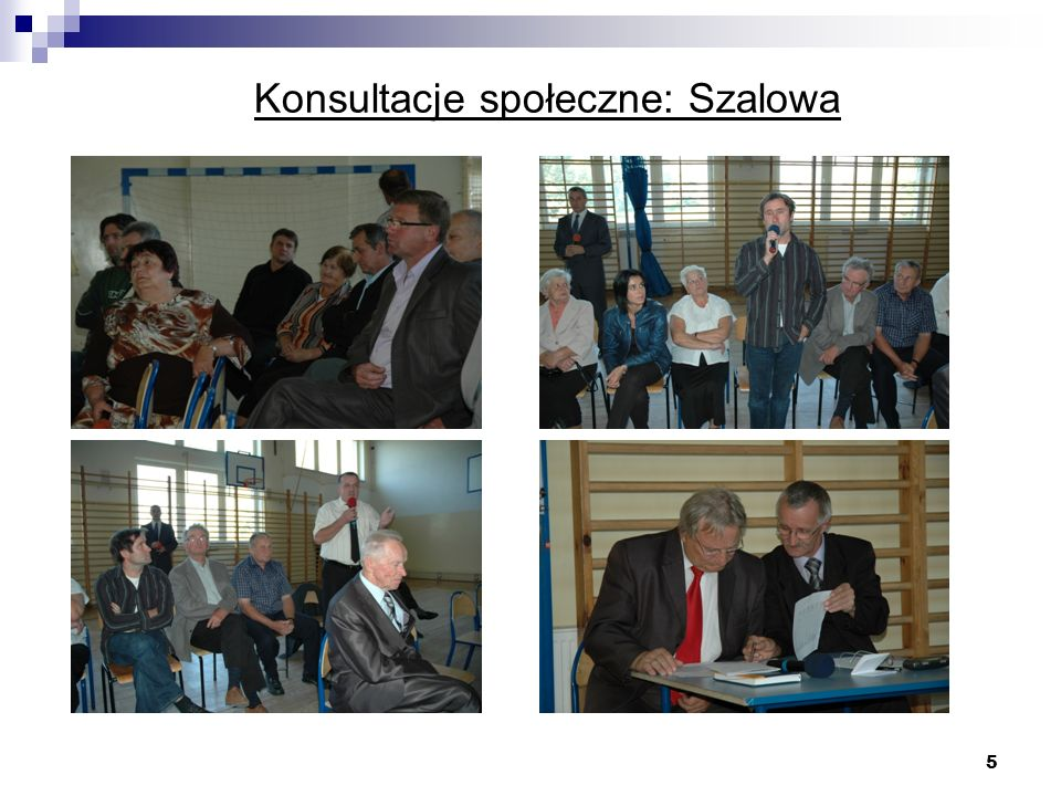 5 Konsultacje społeczne: Szalowa