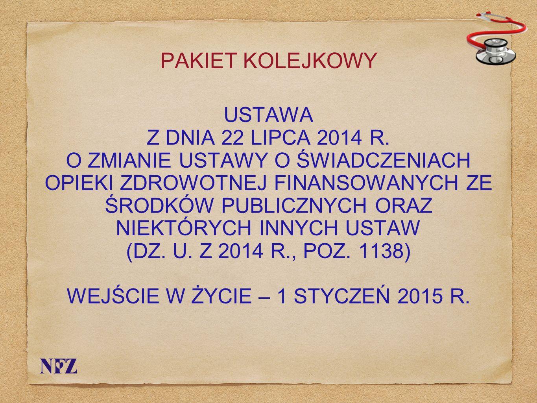 WYKONYWANIE ZAWODU LEKARZA USTAWA Z DNIA 5 GRUDNIA 1996 R.