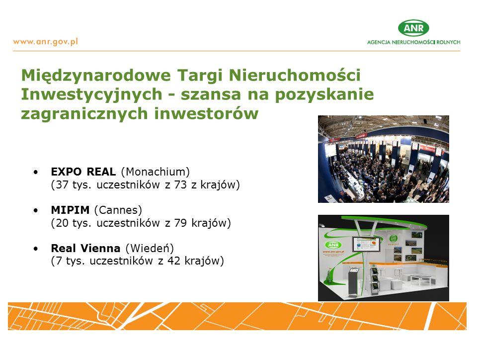 Międzynarodowe Targi Nieruchomości Inwestycyjnych - szansa na pozyskanie zagranicznych inwestorów EXPO REAL (Monachium) (37 tys.