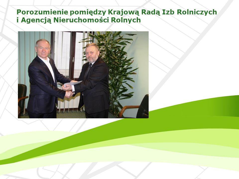 Porozumienie pomiędzy Krajową Radą Izb Rolniczych i Agencją Nieruchomości Rolnych