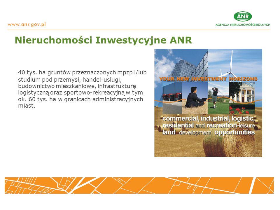 Nieruchomości Inwestycyjne ANR 40 tys.