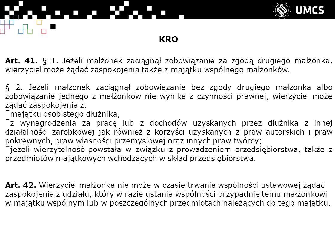 KRO Art. 41. § 1.