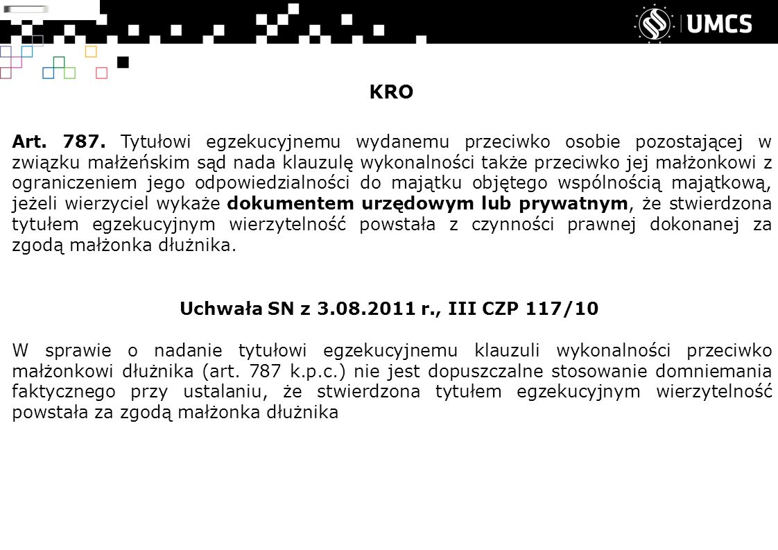 KRO Art. 787.