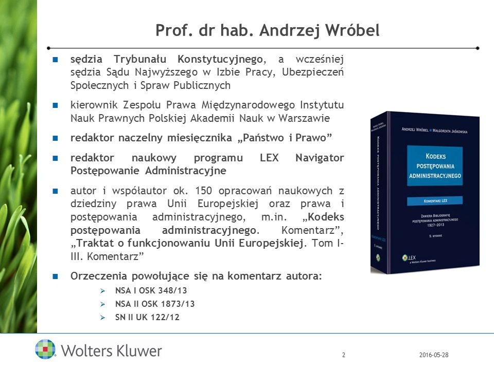 2016-05-282 Prof. dr hab.