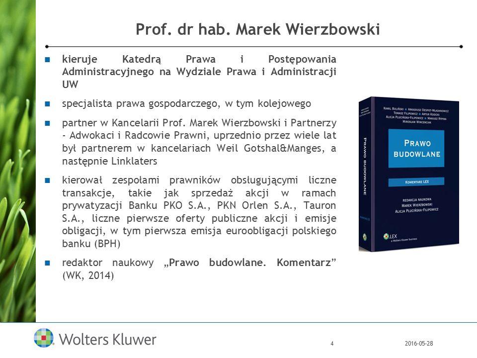 2016-05-285 Prof.dr hab. Leonard Etel od 2012 r.