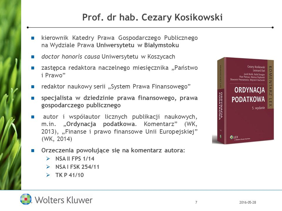 2016-05-287 Prof. dr hab.